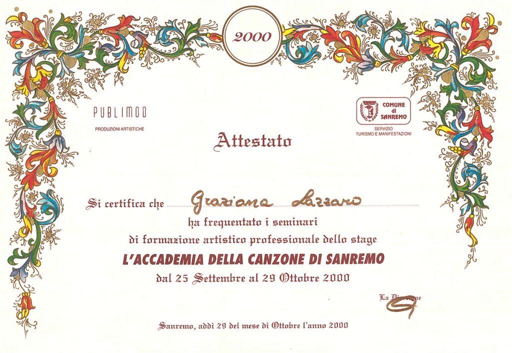 L'Accademia Della Canzone Di Sanremo – Sanremo, Italy