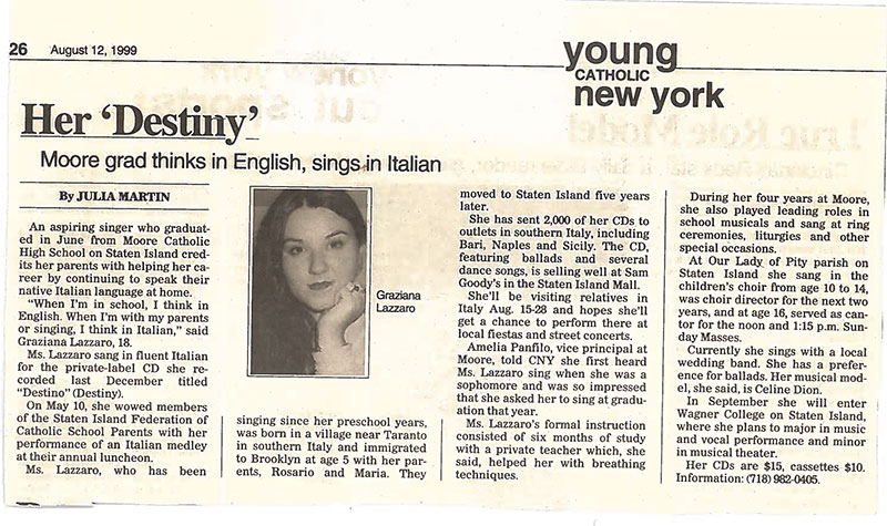 Young Catholic New York Article – New York, NY