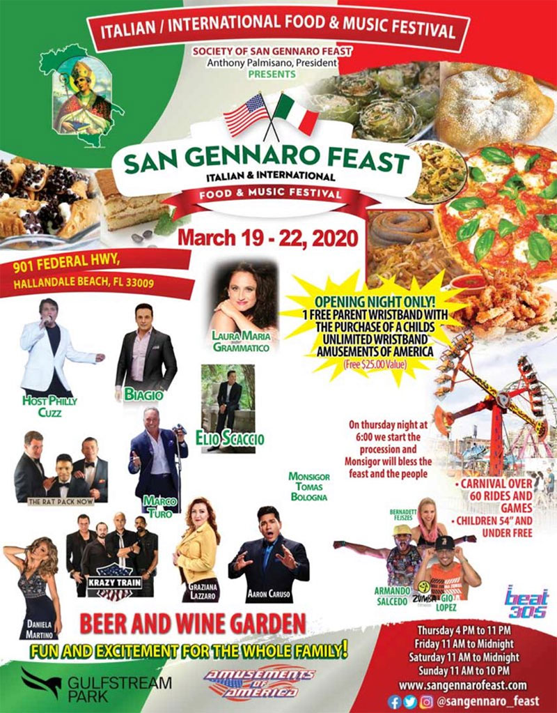 Society of San Gennaro Feast – Hollandale, FL