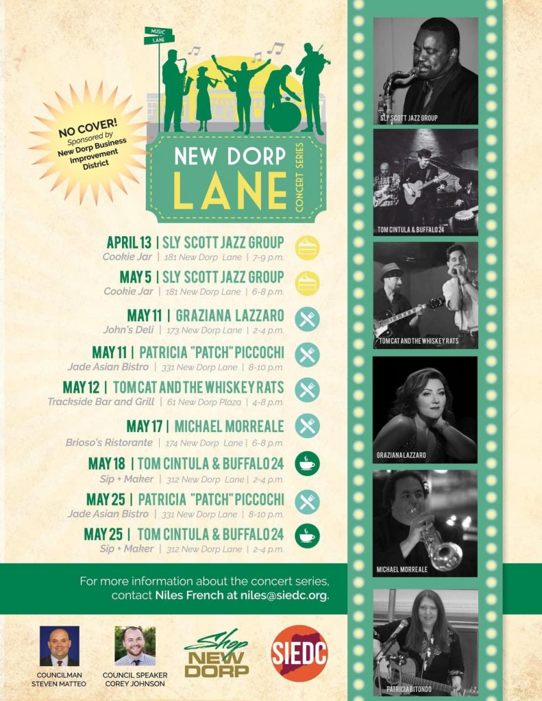 New Drop Lane Concert Series – Staten Island, NY