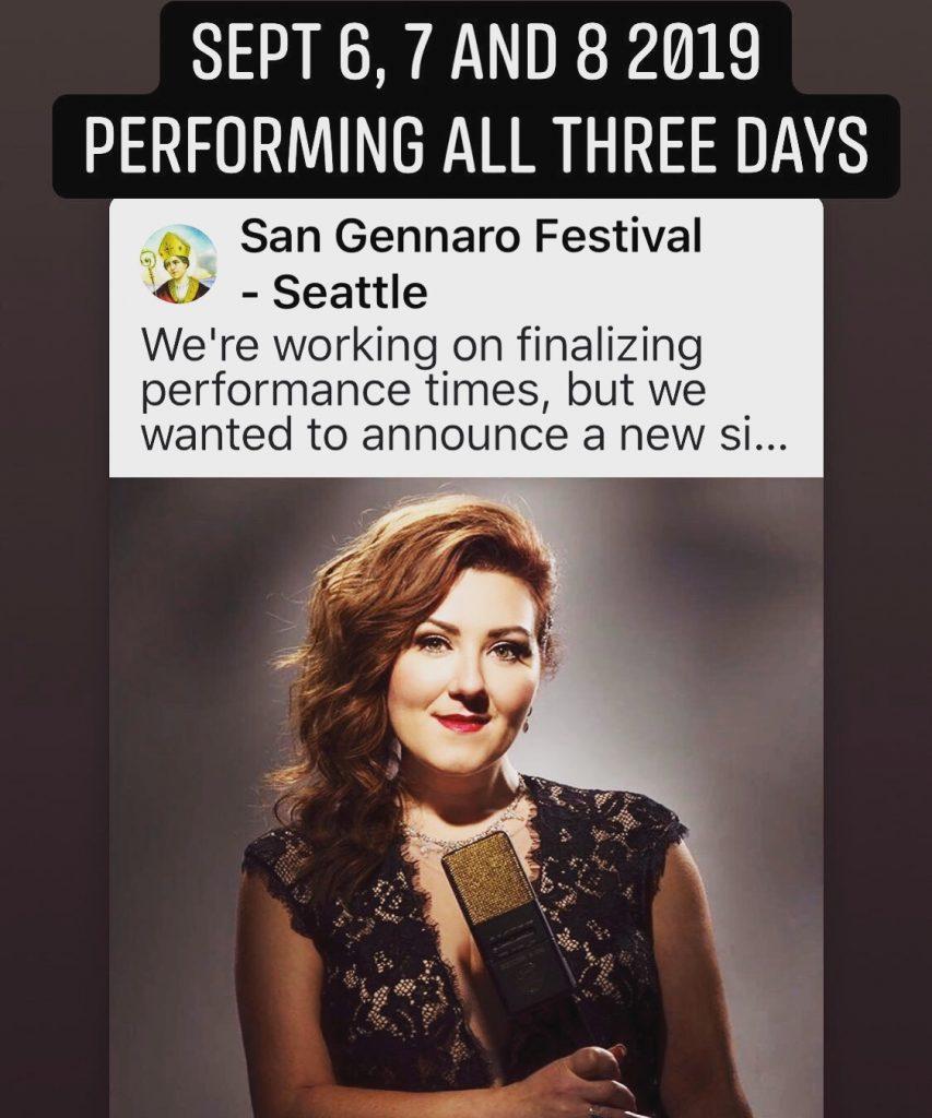 San Gennaro Festival – Seattle, WA