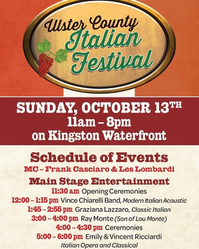 Ulster County Italian Festival – Kingston, NY