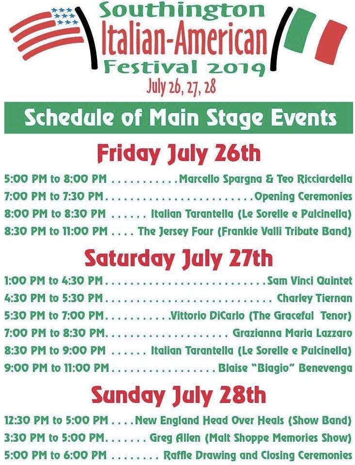 Southington Italian-American Festival – Southington, CT